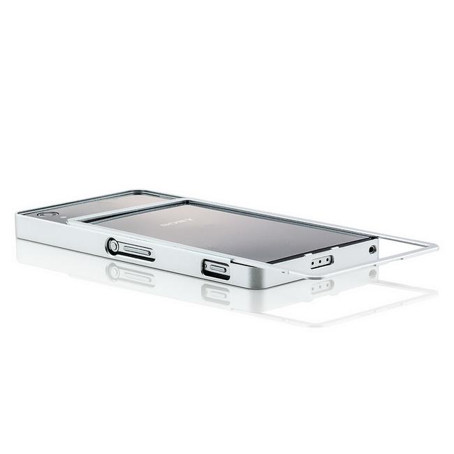 CNC-Aluminium-Bumper-fuer-Sony-Xperia-Z2-Handy-Tasche-Schale-Schutz-Huelle-Case
