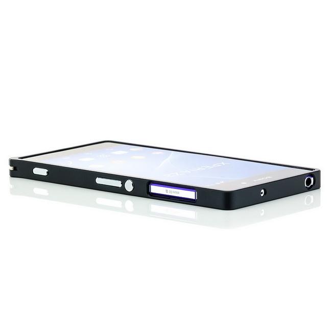 CNC-Aluminium Bumper für Sony Xperia Z2 Case Handy Tasche Schutz Hülle Schale