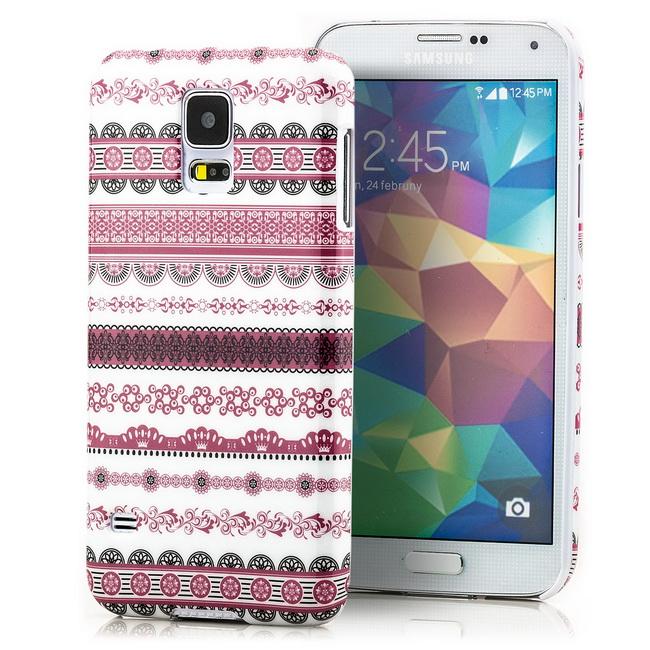 Slim Back Cover für Samsung Galaxy S5 G900 Schutz Hülle Handy Tasche Schale Etui