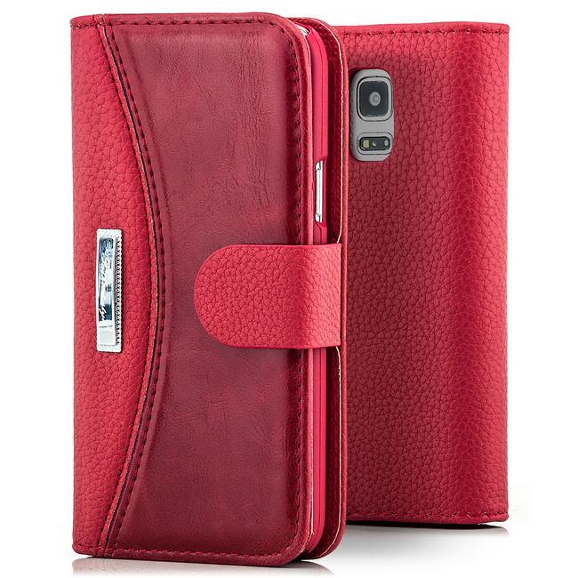 Business Cover Flip Case Handy Tasche Schutz Hülle Schale Bumper Etui Wallet