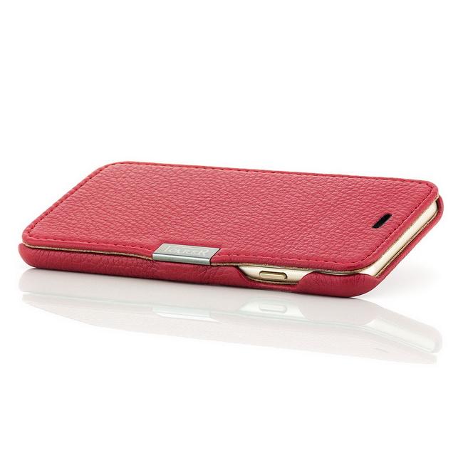 iCareR Echt Leder Wallet Magnet Schutz Tasche Hülle Cover Case Etui für Handy