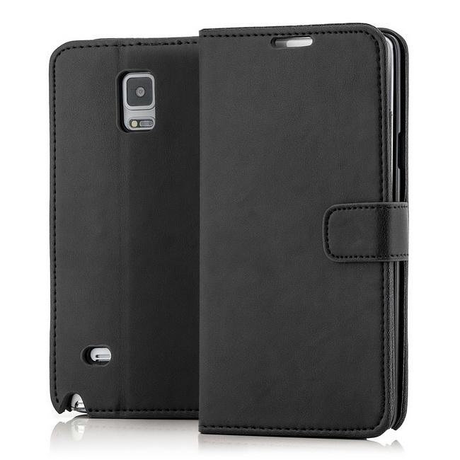 Flip Tasche für Samsung Galaxy Note 4 SM-N910 Handy Schutz Hülle Cover Etui Case