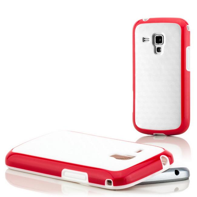 Back Cover für Samsung Galaxy S Duos S7562 Schutz Hülle Case Handy Tasche Etui