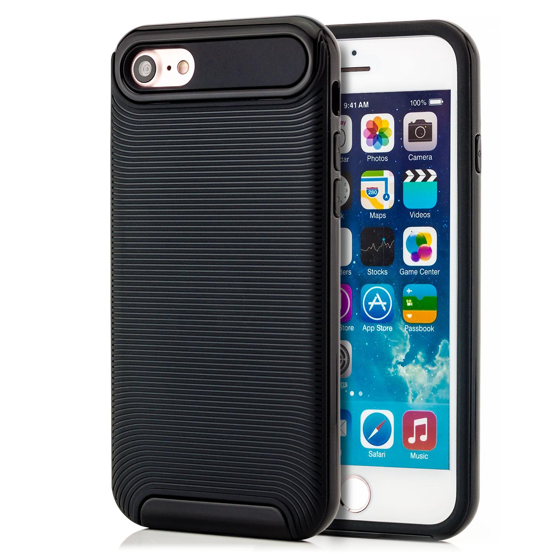 premium silikon schutz h lle f r apple iphone 7 case. Black Bedroom Furniture Sets. Home Design Ideas