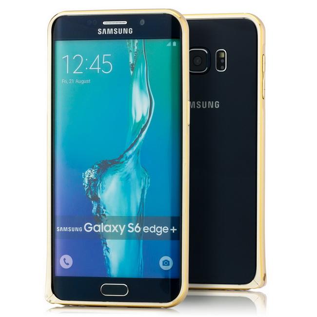 Aluminium Bumper für Samsung Galaxy S6 Edge+ Plus Rahmen Schutzhülle Tasche Case
