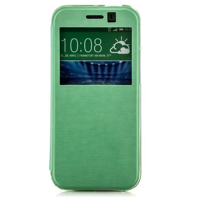 Etui-Coque-housse-avec-Fenetre-pour-HTC-One-Case-elegant-Anti-choc-Ultra-mince