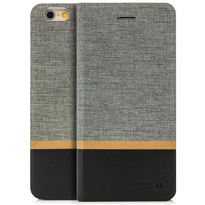Custodia-elegante-per-Apple-iPhone-Case-Caso-Bumper-Portafogli-Cover-di-Pelle